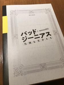 パンフレットも凝ってます。内容もしっかりしていて700円はお得。