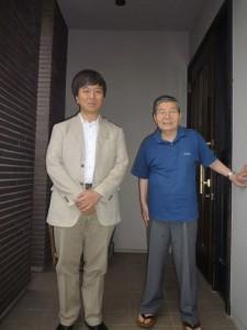 桂千穂さんと2014年