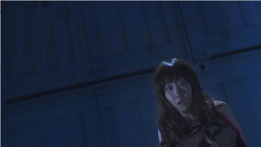 『怪奇大作戦 ミステリーファイル』第4話『深淵を覗く者』マイクロ波で惨殺される女。